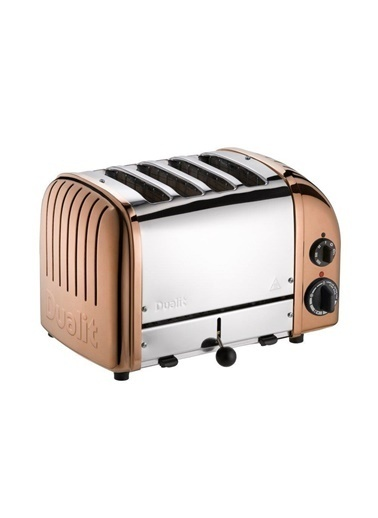 Quail Quail Dualit 47390 Classic El Yapımı 4 Hazneli Çelik Bakır Ekmek Kızartma Makinesi Bakır